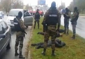 В интернете появилось видео задержания похитителей днепропетровского бизнесмена