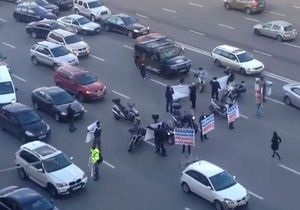 Завершившийся убийством конфликт байкеров: в центре Москвы протестующие заблокировали проезд