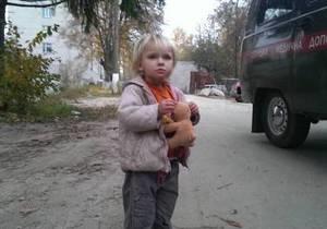 Милиционеры разыскали маму потерявшейся под Киевом девочки
