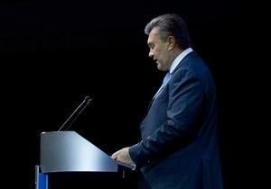 Янукович: Донбасс показывает всей стране, как и куда нужно идти