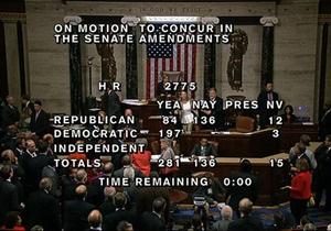 Бюджетная драма в США: стенографистку удалили с заседания палаты представителей за речь о масонах