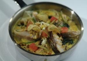 Блюда из рыбы - Рыбный день. Рецепт сельди с хересом и картофелем по-португальски от повара Свена Эрика Ренаа