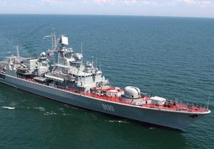 Украинские моряки с фрегата Гетман Сагайдачный спасли жизнь сирийскому капитану
