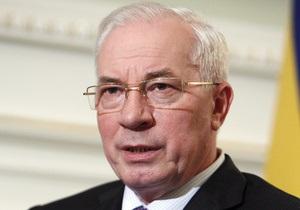 Азаров - ЕС - ТС - Мы не делаем выбора между ЕС или ТС: Азаров пояснил мотивацию подписания СА с Брюсселем