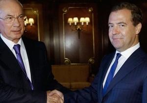 Зерно, космос, поезд. Украина подписала с Россией ряд новых договоренностей - азаров - медведев - зерновой пул