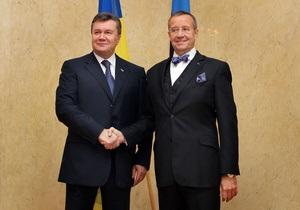 Янукович - Эстония - Украина ЕС - Янукович заявил эстонцам, что соглашение Украины с ЕС является обоюдовыгодным