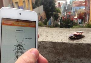 Пользователи iPhone смогут контролировать мозг тараканов - roboroach