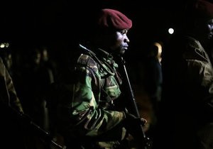 Сомалийские террористы не успели дойти до запланированного места теракта и подорвались