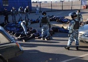 В Москве после еще одной драки полиция задержала около 80 человек