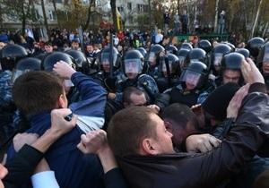 Несколько человек задержаны возле овощебазы в Бирюлево