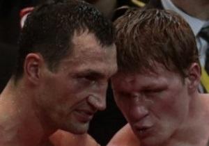 Владимир Кличко: У меня фингал под глазом, но не от удара Поветкина