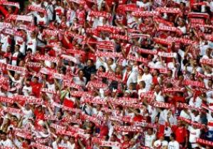 За сборною Польши в Англии будет болеть 10 тысяч фанатов