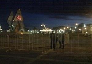 Во избежание беспорядков: полиция закрыла Манежную площадь в центре Москвы
