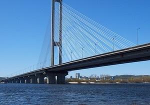 В выходные движение по Южному мосту в Киеве будет ограничено
