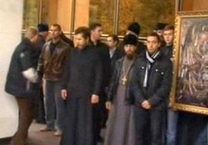 В Молдове священники сорвали заседание парламента из-за возможной отмены наказания за пропаганду гомосексуализма