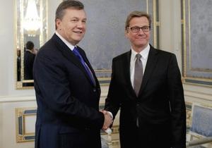 Ъ о визите главы МИД Германии: Дата решения вопроса Тимошенко остается неопределенной