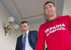 Виталий Кличко показал брату Верховную Раду. Фото- и видеорепортажи