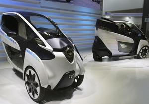 Японский автогигант подтвердил слухи о производстве 3-колесного электромобиля
