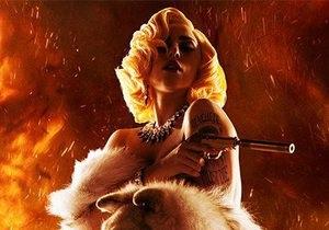 Lady Gaga представила клип на саундтрек к новому Мачете