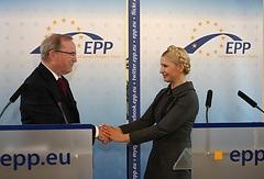 Вилфрид Мартинс - Тимошенко - смерть - Европейская народная партия - Большая потеря для европейской семьи: Тимошенко соболезнует по поводу смерти своего защитника Вилфрида Мартинса