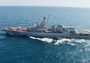 Украинский фрегат присоединился к антипиратской операции НАТО