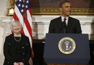 Финансы - США - Федеральна резервна система - Обама официально выдвинул жену нобелевского лауреата на пост главы центробанка США