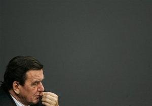 Полиция раскрыла план убийства экс-канцлера Германии Герхарда Шредера