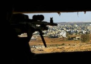 Сирия - Израиль - В результате обстрела со стороны Сирии были ранены двое израильских военных