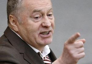 Новости России - Жириновский собирается побить все окна посольства Нидерландов в Москве