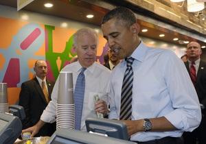 Обама сходил в закусочную и отменил игру в гольф