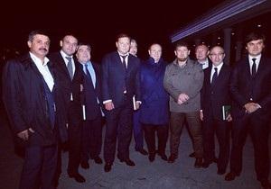Кернес, Добкин и Иванющенко погуляли в Грозном на празднике у Кадырова