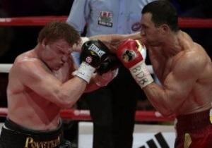 Поветкин опустился в рейтинге супертяжеловесов после поражения от Кличко