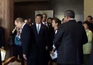 Лидеры стран АТЭС хором спели Путину Happy birthday to you