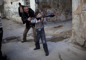 В Сирии детям-снайперам платят по 2,5 доллара за убийство