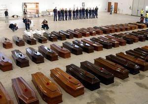 Трагедия у Лампедузы: Число жертв достигло 200 челове