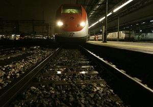Рим - поезд - Возле Рима столкнулись два пассажирских поезда