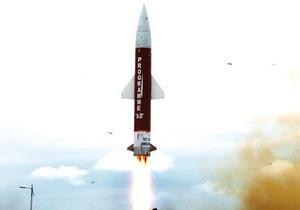 Индия успешно запустила ракету, способную нести ядерный заряд