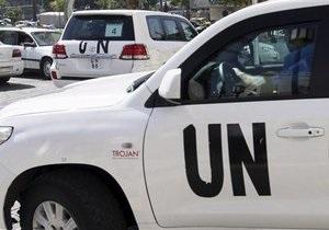 Сирия - химическое оружие - В Сирии уничтожили часть авиабомб с отравляющими веществами - ООН