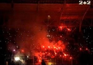 Энергетики выясняют, почему на стадионе в Днепропетровске пропал свет
