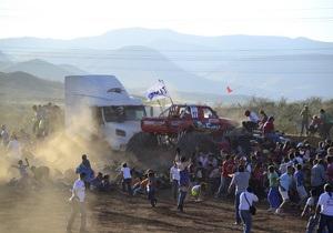 Мексика: шоу автомонстров закончилось трагедией