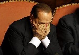 Берлускони могут отправить на общественные работы