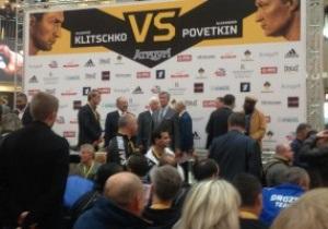 Плюнувший в лицо Кличко боксер пришел на церемонию взвешивания перед боем с Поветкиным