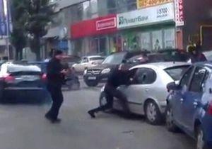 Назад в 90-ые. Видео очевидцев стрельбы в Киеве