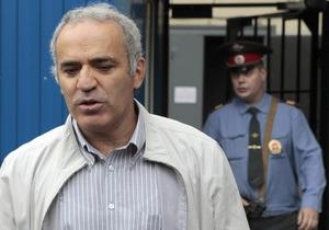 Каспаров выиграл в ЕСПЧ иск против России