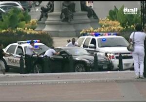 Новости США - стрельба в Вашингтоне: Американские СМИ распространили кадры погони за женщиной, открывшей стрельбу у Капитолия