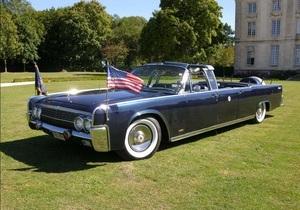 Кабриолет Кеннеди - Созданный для Джона Кеннеди кабриолет Lincoln Continental выставят на аукцион