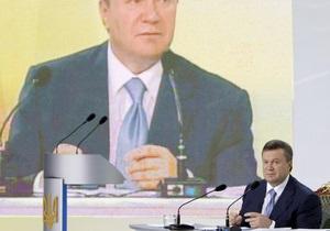 Янукович подписал закон, упрощающий процедуру начала бизнеса в Украине