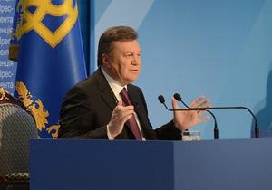 Янукович прочит Украине второе место в мире по экспорту зерновых
