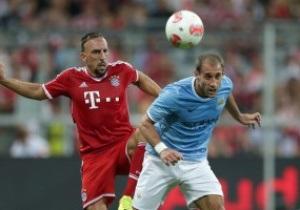 Бавария легко справляется с Манчестер Сити