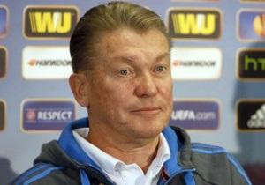 Блохин рассказал, какой результат в матче с Рапидом удовлетворит его